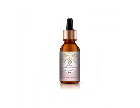 Натуральный флюид для блеска волос с маслами брокколи и розового дерева Guriya