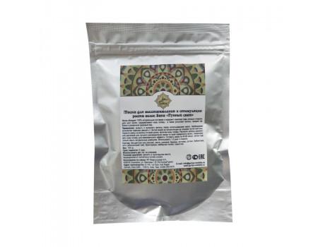 Травяная маска для восстановления и стимуляции роста волос Sana «Лунный свет»