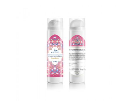 """Натуральный увлажняющий крем с маслом розы для сухой увядающей кожи Arous Sultan """"Невеста Султана"""", 50 мл"""